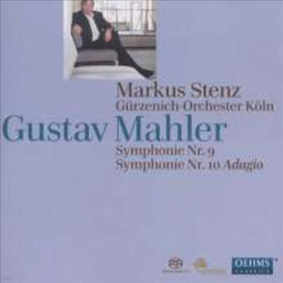 말러: 교향곡 9번 & 10번 '아다지오' (Mahler: Symphonies Nos.9 & 10 'Adagio') (2SACD Hybrid) - Markus Stenz