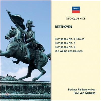 Paul Van Kempen 베토벤: 교향곡 3번 '영웅' 7번, 8번, 헌당식 서곡 (Beethoven: Symphonies No. 3,7,8)