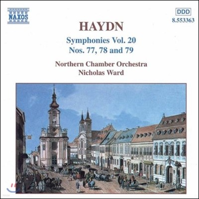 Nicholas Ward 하이든: 교향곡 20집 - 77번, 78번, 79번 (Haydn: Symphony No. 77 78 79)