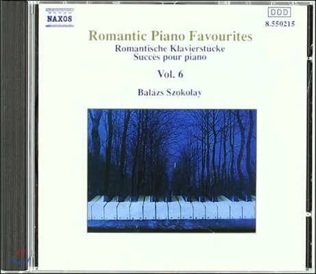 Balazs Szokolay 유명 로맨틱 피아노 작품집 6 (Romantic Piano Favourites Vol.6)