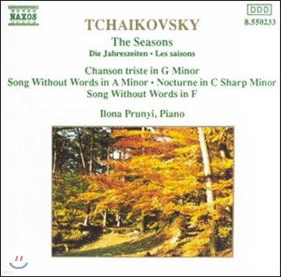 Ilona Prunyi 차이코프스키: 사계, 슬픈 노래, 무언가 (Tchaikovsky: The Seasons, Chanson Triste, Song Without Words)