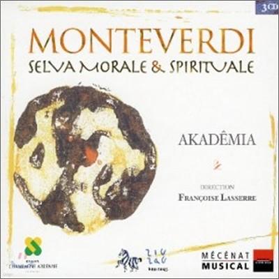 Francoise Lasserre 몬테베르디 : 도덕적이고 종교적인 숲 (Monteverdi : Selvamorale & Spirituale : AkademiaㆍFrancoise Lasserre)
