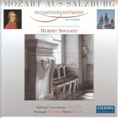 Mozart aus Salzburg : Sinfonia ConcertanteㆍSerenade : Hubert Soudant
