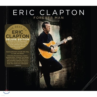 Eric Clapton - Forever Man [3CD Deluxe Edition] 에릭 클랩튼 2015년 베스트 앨범