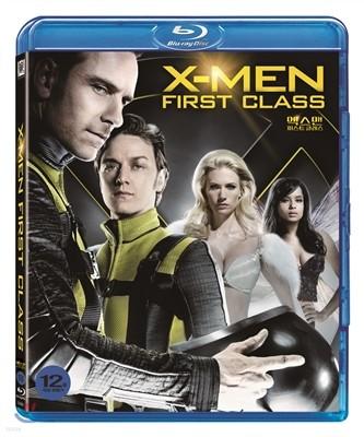 엑스맨: 퍼스트 클래스 (1Disc) : 블루레이