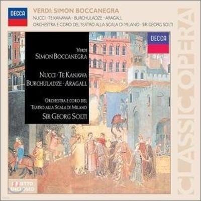 Verdi : Simon Boccanegra : Solti