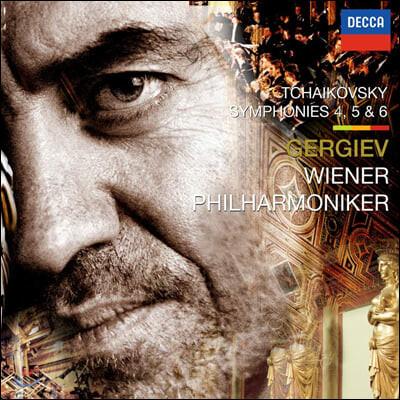 Valery Gergiev 차이코프스키: 교향곡 4-6번 (Tchaikovsky Symphony Op. 36, 64, 74)