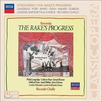 Stravinsky : The Rake's Progress : Chailly