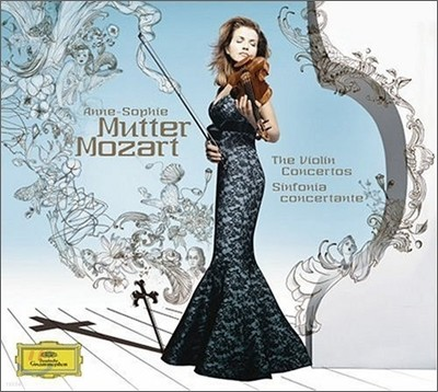 Mozart : Violin Concerto & Sinfonia Concertante : Anne-Sophie Mutter