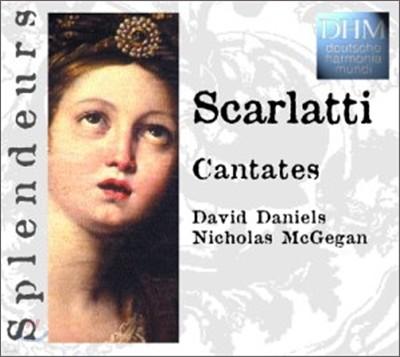 Scarlatti : Cantata : David DanielㆍNicholas McGegan