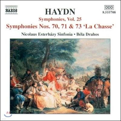 Bela Drahos 하이든: 교향곡 25집 - 70번, 71번, 73번 '사냥' (Haydn: Symphonies No.70, No.71, No.73 'The Hunt')