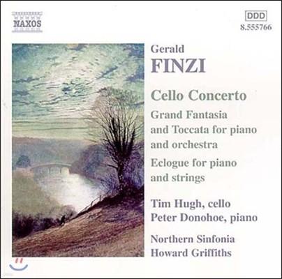 Tim Hugh 핀치: 첼로 협주곡, 그랜드 환상곡과 토카타, 전원시 (Finzi: Cello Concerto, Grand Fantasia & Toccata, Eclogue)