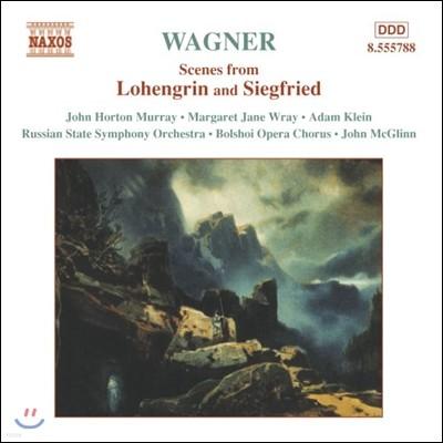 John McGlinn 바그너: 로엔그린, 지그프리트 명장면 (Wagner: Scenes from Lohengrin & Siegfried)