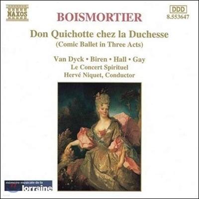 Herve Niquet 브와모르티에: 발레 '공작부인 집의 돈 키호테' (Boismortier: Don Quichotte chez la Duchesse)