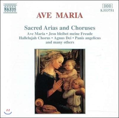 아베 마리아 - 종교 아리아와 합창곡집 (Sacred Arias & Choruses - Ave Maria, Hallelujah Chorus, Agnus Dei, Panis Angelicus)
