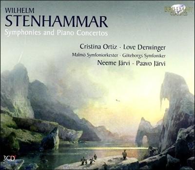 Neeme Jarvi 스텐함마: 교향곡, 피아노 협주곡 (Stenhammar: Symphonies and Piano Concertos)