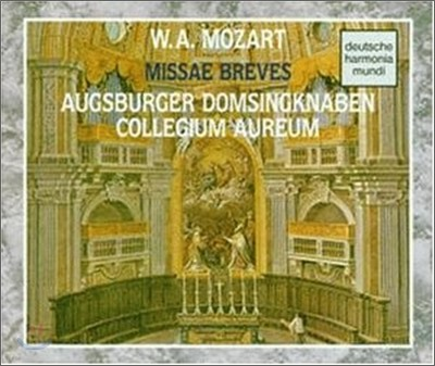 Mozart : Missa Breves : Ausgburger Domsingknaben