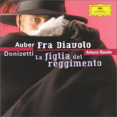 Auber : Fra Diavolo / Donizetti : La Figlia Del Reggimento : Arturo Basile