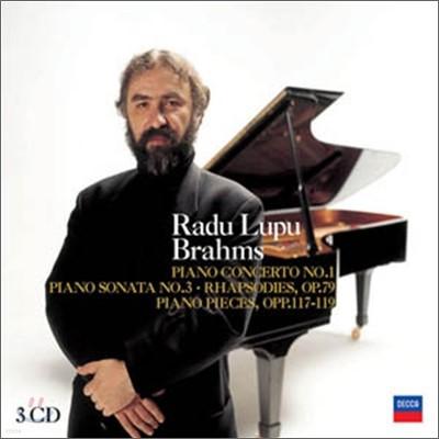 Radu Lupu 브람스: 피아노 협주곡 1번, 소나타 3번 외 - 라두 루푸 (Brahms: Piano Concerto, Piano Sonata)
