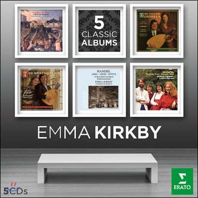 Emma Kirkby 엠마 커크비 Virgin 레이블 녹음 모음집 (5 Classic Albums) [5CD 한정반]