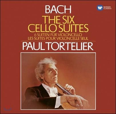 Paul Tortelier 바흐: 무반주 첼로 모음곡 (Bach: Cello Suites Nos. 1-6, BWV1007-1012)