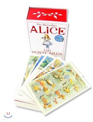 이상한 나라의 앨리스 원화 일러스트 엽서집 박스 세트 : Alice: 100 Postcards from Wonderland