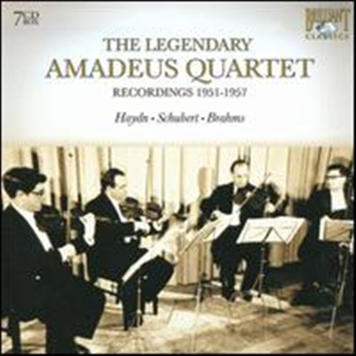 The Legendary Amadeus Quartet, Recordings 1951-1957 (7CD Box Set) - Amadeus Quartet