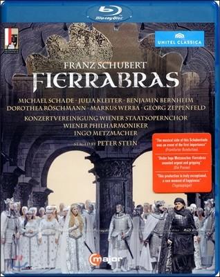 Ingo Metzmacher 슈베르트: 피에라브라스 (Schubert: Fierrabras Fierrabras D 796) 블루레이