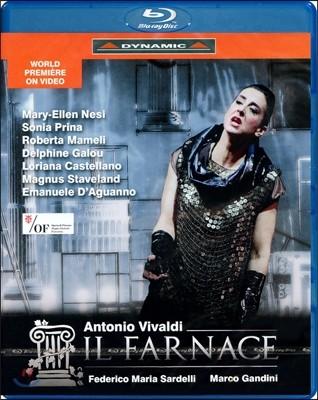 Federico Maria Sardelli 비발디: 일 파르나체 (Vivaldi: Il Farnace) 블루레이