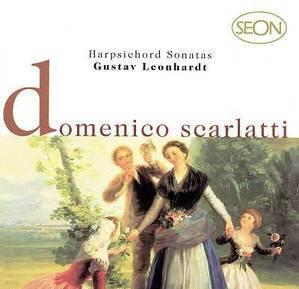 Gustav Leonhardt / Scarlatti : Harpsichord Sonatas (수입/SBK60099)