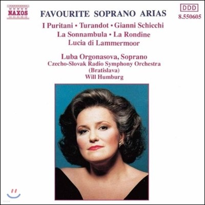 Luba Orgonasova 유명 소프라노 아리아 - 투란도트, 청교도, 몽유병의 여인 (Favourite Soprano Arias - I Puritani, Turandot, La Sonnambula)
