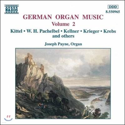 Joseph Payne 독일 오르간 음악 2집 - 키텔 / 파헬벨 / 크렙스 (German Organ Music - Kittel / Pachelbel / Krebs)