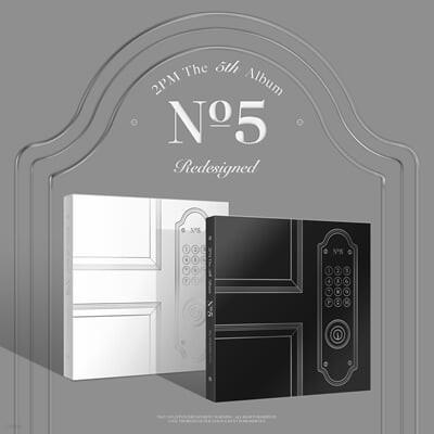 2PM 5집 - NO.5 [부클릿 DAY ver.(흰색) / NIGHT ver.(검정) 랜덤 발송]