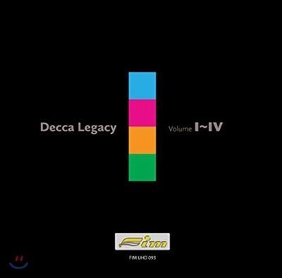 데카 스테레오 레코딩의 유산 박스 세트 (Decca Legacy Vol. 1 - 4) (4CD)