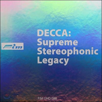 데카 스테레오 레코딩의 유산 박스세트 한정반 (Decca Supreme Stereophonic Legacy Ultra HD CD Box Set)