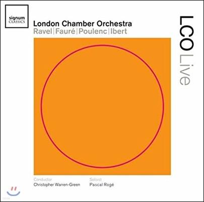 Pascal Roge 라벨 / 포레 / 풀랑 / 이베르 (LCO Live - Ravel / Faure / Poulenc / Ibert)