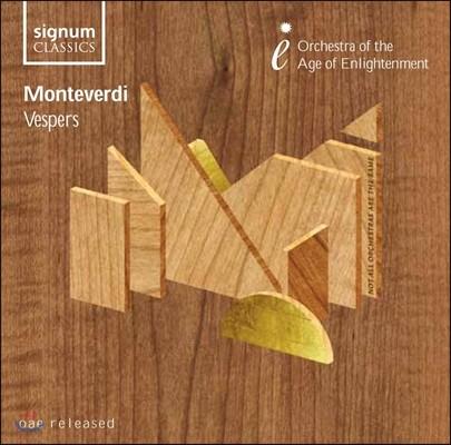 Orchestra of the Age of the Enlightenment 몬테베르디: 성모 마리아의 저녁 기도 (Monteverdi: Vespro Della Beata Virgine)