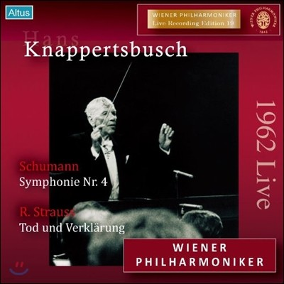 Hans Knappertsbusch 슈만: 교향곡 4번 / R.슈트라우스: 죽음과 변용 (R.Strauss: Tod und Verklarung Op.24 / Schumann: Symphony No.4 Op.120) 한스 크나퍼츠부슈