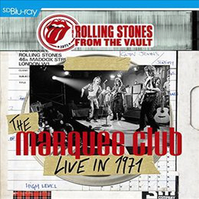 Rolling Stones - From The Vault - The Marquee Club Live in 1971 (SBD/CD) (Blu-ray)(2015)