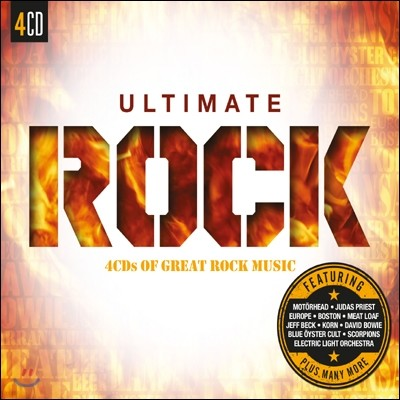 얼티메이트 락 (Ultimate Rock: 4CDs Of The Greatest Rock Music)
