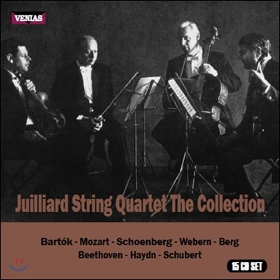 Juilliard String Quartet 줄리어드 현악 사중주단 컬렉션 - 1949-1963 Recordings (The Collection)