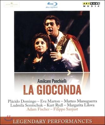 Placido Domingo / Eva Marton 폰키엘리 : 라 조콘다  (Ponchielli : La Gioconda) 블루레이