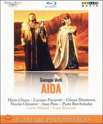 Lorin Maazel / Luciano Pavarotti 베르디: 아이다 (Verdi: Aida) 블루레이