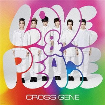 크로스 진 (Cross Gene) - Love & Peace (CD+DVD) (초회한정반 A)