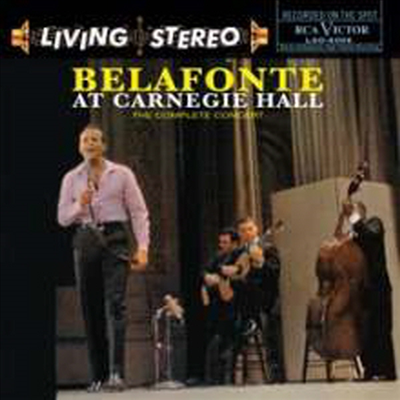 Harry Belafonte - Belafonte At Carnegie Hall (Ltd. Ed)(Gatefold)(180G)(2LP)