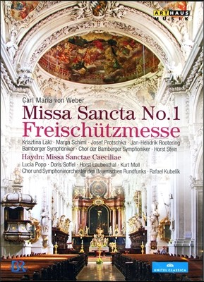 Rafael Kubelik 베버: 마탄의 사수 미사 / 하이든: 미사 산타 체칠리아 (Haydn: Missa Sancta No.1 'Freischutzmesse')