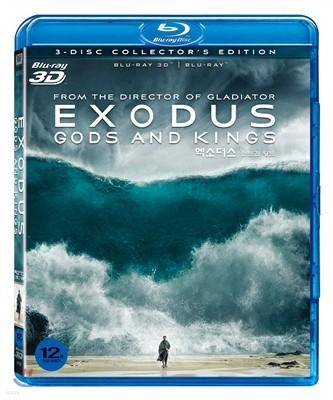 엑소더스 : 신들과 왕들 (3D & 2D, 3Disc 일반판) : 블루레이