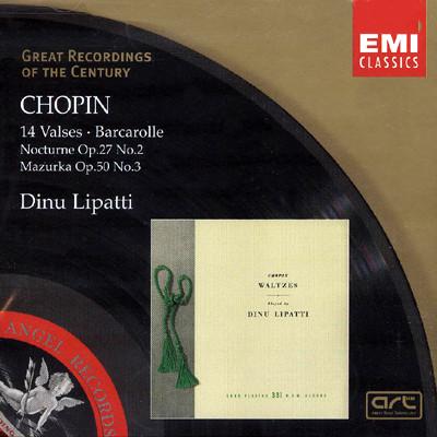쇼팽 : 14개의 왈츠 - 디누 리파티