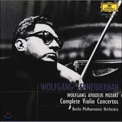 Wolfgang Schneiderhan 모차르트: 바이올린 협주곡 전곡집 (Mozart : Violin Concertos)