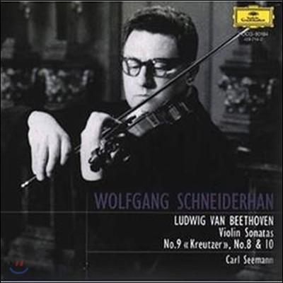 Wolfgang Schneiderhan 베토벤: 바이올린 소나타 8번, 9번 '크로이처' & 10번 (Beethoven : Violin Sonatas No.8-10)